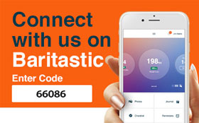 Connect with us on Baritastic, an app for patients in the Weight and Wellness Center at Tufts Medical Center in downtown Boston, MA.