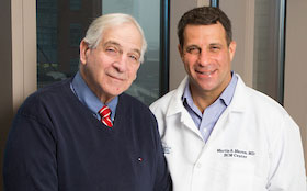 Father, son Cardiovascular Specialists, Barry and Martin Maron, spread the word that HCM is now a manageable disease at Tufts Medical Center in downtown Boston, MA.