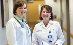 Nurse navigators for cancer patients at Tufts Medical Center.