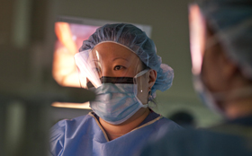 Bariatric surgeons at Tufts Medical Center.