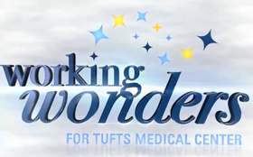 Logo for Working Wonders at Tufts Medical Center.