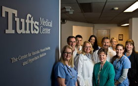 The Vascular Surgery team at Tufts Medical Center in Boston, MA.