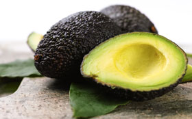 Avocados have heart healthy fat