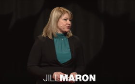 Jill Maron, MD, MPH, speaking at Natick TedX
