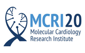 Molecular Cardiology Research Institute 20th Anniversary logo
