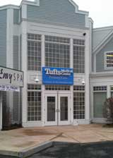 The outside of the Tufts Medical Center primary care office in Framingham, MA.