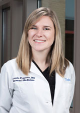 Laurie Pearson, MD is one of the internal medicine chief residents
