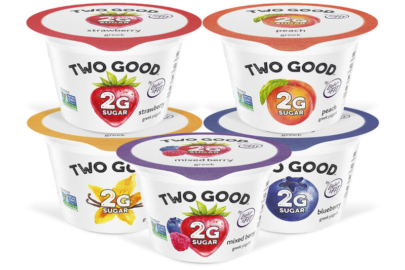 Two Good Greek Yogurt by Dannon Light & Fit