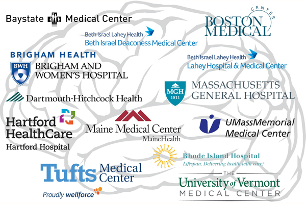 A graphic that shows the logos of hospitals who have signed the pledge.