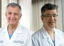 Dr. Hassan Rastegar and Dr. Frederick Chen