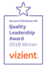 Vizient Quality Leadership Award 2018
