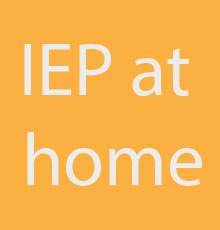 IEP at home