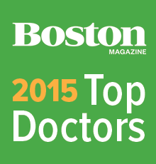 Boston Magazine 'Top Doctor' Award 2015