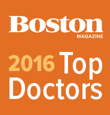 Boston Magazine 'Top Doctor' Award 2016