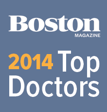 Boston Magazine 'Top Doctor' Award 2014