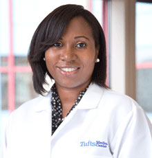 Eloise Chapman-Davis, MD, is a gynecologic oncologist at Tufts Medical Center.