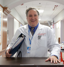 David DeNofrio, MD is the Director of the Heart Failure and Cardiac Transplant Center at Tufts Medical Center in downtown Boston, MA.