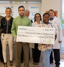 Cumberland Farms Check Presentation - Cause Marketing