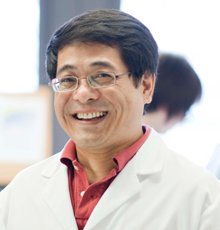 Guo-fu Hu, PhD, MORI Prinicipal Investigator at Tufts Medical Center in Boston.