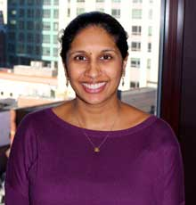 Anita Kumar is a new provider in the AYA Cancer program at Tufts Medical Center in Boston.