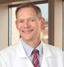Dr. Robert Martell is an oncologist at Tufts Medical Center in downtown Boston, MA.
