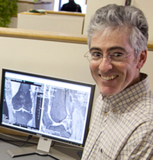 Timothy McAlindon, MD conducts research at Tufts Medical Center in Boston.