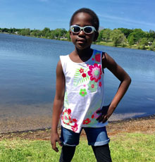 A team of doctors at Floating Hospital in Boston, MA collaborated to care for sickle cell disease patient Michaela Nabwire and her sister, Danisha, who donated her bone marrow.