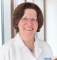 Susan Parsons, MD, the director of the AYA program at Tufts Medical Center.
