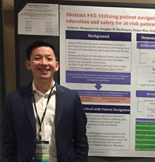 Patient Navigator, Ming Lin, represented Tufts Cancer Center earlier this month at the 2017 American Society of Clinical Oncology (ASCO) Quality Care Symposium