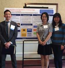The Patient Navigation Team from Tufts Medical Center in Boston at the 7th Annual Patient Navigator/Community Health Worker Conference.