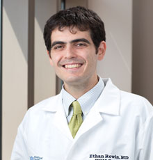 Ethan Rowin, MD is the Co-Director of the Hypertrophic Cardiomyopathy Center at Tufts Medical Center in downtown Boston, MA.