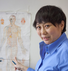 ChenChen Wang, PhD, a researcher at Tufts Medical Center.