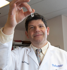 Joel Weinstock, MD, Chief of Gastroenterology at Tufts Medical Center in Boston.