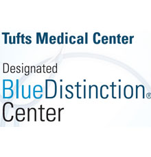 Tufts MC was awarded the Blue Cross Distinction center for bariatric surgery and maternity services