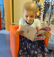 Ruby Millea is battling stage 4 neuroblastoma and has asked for cards for Christmas