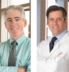 Dr. Thaler and Dr. McAlindon are being recognized for Clinical Research