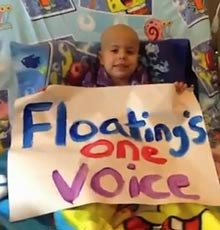 Floating Hospital for Children patients sing 'One Voice' to recognize child life specialists.