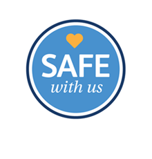 Safe with us logo