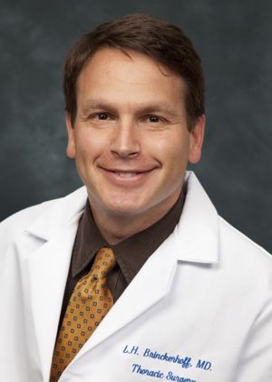 Lawrence Brinckerhoff, MD is a thoracic surgeon at Tufts Medical Center.