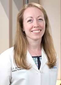 Dr. Mary Brown is a pediatrician in Boston at Tufts Medical Center.