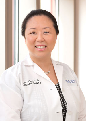 Dr. Lilian Chen is a colon and rectal surgeon in Boston at Tufts Medical Center