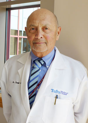 David Feingold, MD is a dermatologist at Tufts Medical Center in downtown Boston, MA.