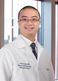 John Leung, MD is an allergist at Tufts Medical Center in Boston.