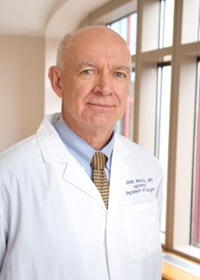 William C. Mackey, MD is a vascular surgeon and Chief of the Department of Surgery at Tufts Medical Center.