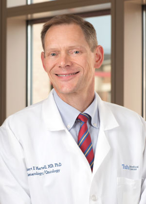 Dr. Bob Martell is an oncologist in Boston at Tufts Medical Center.