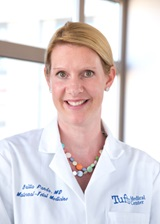 Britta Panda, MD is a maternal-fetal medicine physician at Tufts Medical Center.