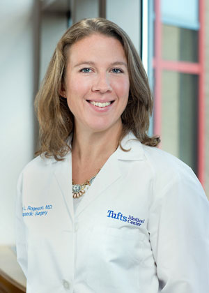 Ashley Rogerson, MD is a Orthopaedic Spine Surgeon at Tufts Medical Center in Boston, MA.