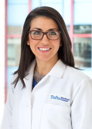 Alicia Romano is a care team provider at Tufts Medical Center in Boston.