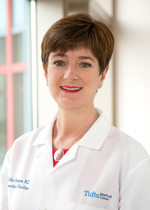 Kellie Sprague, MD is a hematologist/oncologist at Tufts Medical Center.