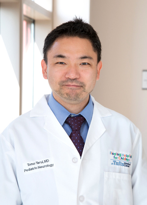 Tomo Tarui, MD is a pediatric neurologist at Floating Hospital for Children.
